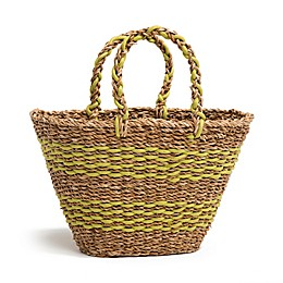 Fab Habitat™ Geneva Seagrass Bag in Lime Green