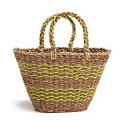 Fab Habitat™ Geneva Seagrass Bag in Lime Green