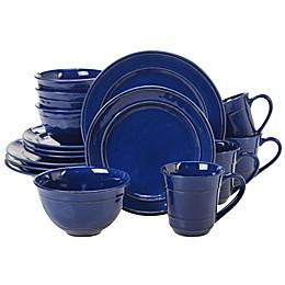 Certified International Orbit Dinnerware Collection in Cobalt