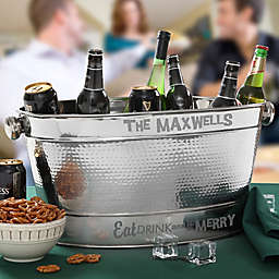 Party Hardy Stainless Steel Party Tub