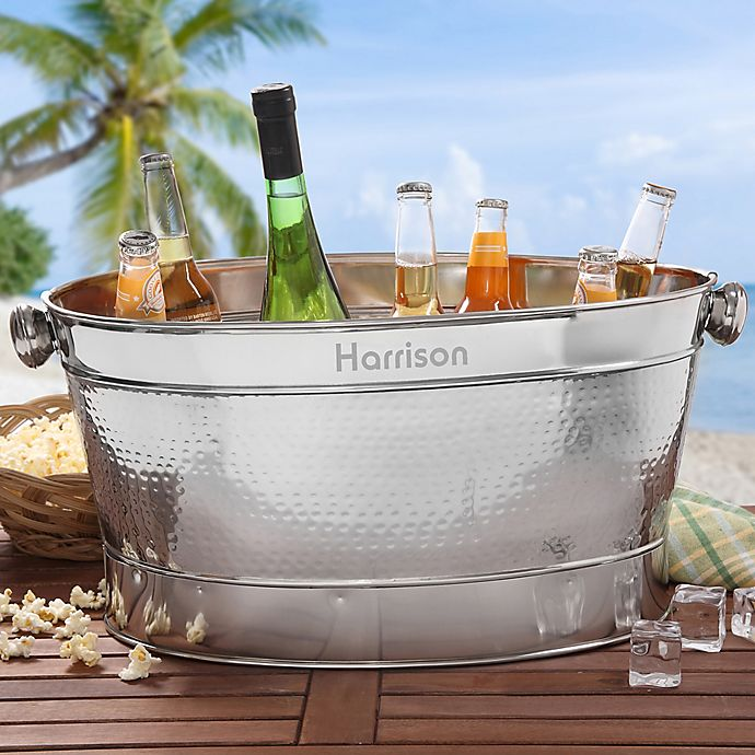 Alternate image 1 for Classic Celebrations Stainless Steel Party Tub