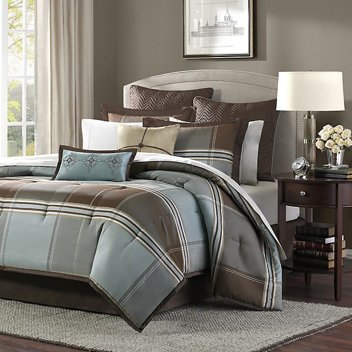 Alternate image 1 for Lincoln Square 8-Piece Queen Comforter Set