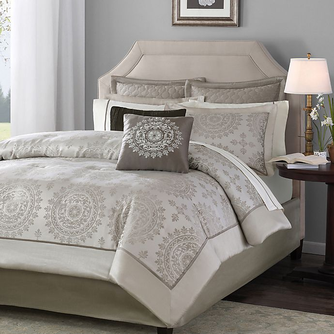 Alternate image 1 for Tiburon California King 12-Piece Bedding Set