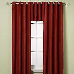 Reina Grommet Window Curtain Panel and Valance