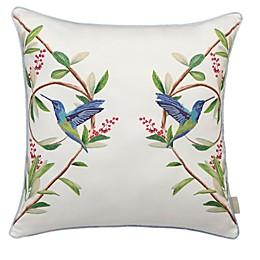 Ted Baker London Highgrove Embroidered Bird Throw Pillow