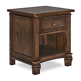 Evolur™ Sante Fe Nightstand in Antique Brown