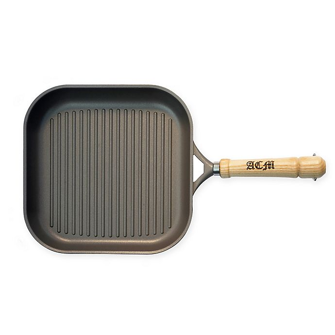 Alternate image 1 for Berndes® Tradition Nonstick 10-Inch Aluminum Grill Pan in Grey