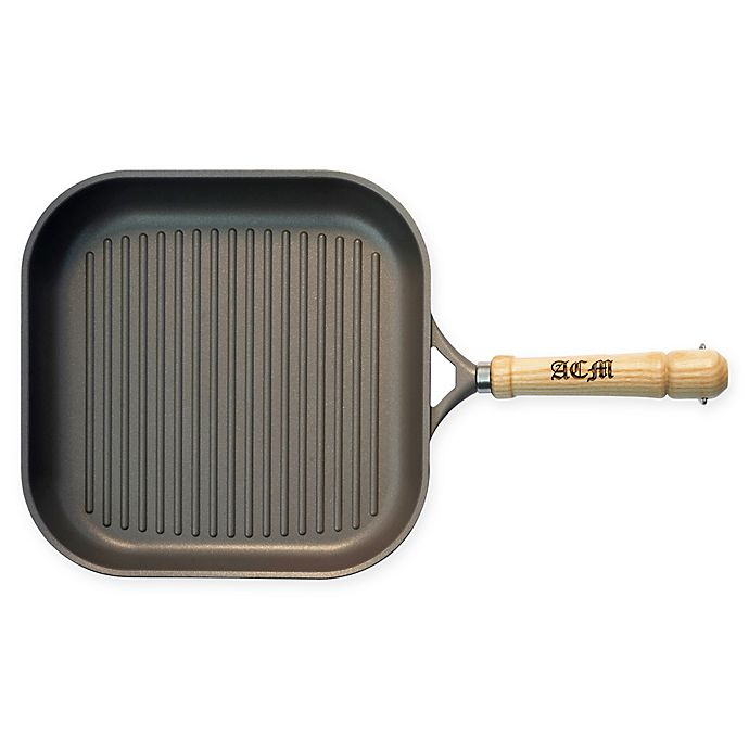 Alternate image 1 for Berndes® Tradition Induction Nonstick 11.5-Inch Grill Pan in Grey