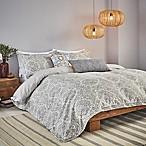 Bedeck Minoa Full/Queen Comforter Set in Grey