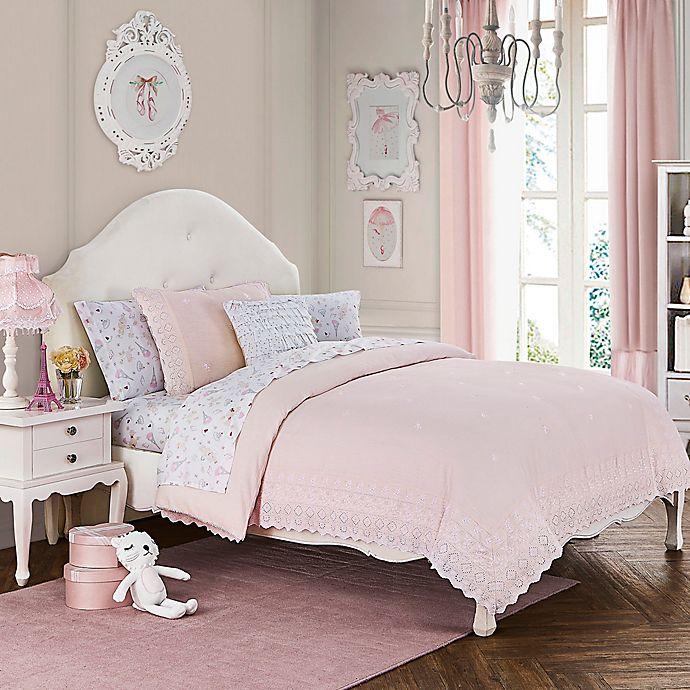 Alternate image 1 for Amelia Full/Queen Duvet Cover Set in Pink