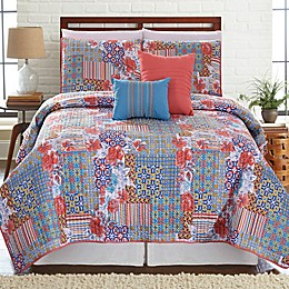 Bellanova Printed Reversible Quilt Set