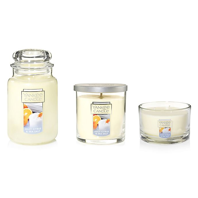Alternate image 1 for Yankee Candle® Housewarmer® Juicy Citrus & Sea Salt Candle Collection