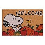 """Peanuts® Welcome Harvest 18"""" x 30"""" Coir Door Mat"""
