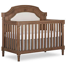 evolur™ Julienne 5-in-1 Convertible Crib in Toffee/Brushed White