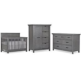 evolur™ Belmar Flat Top Nursery Furniture Collection in Rustic Grey
