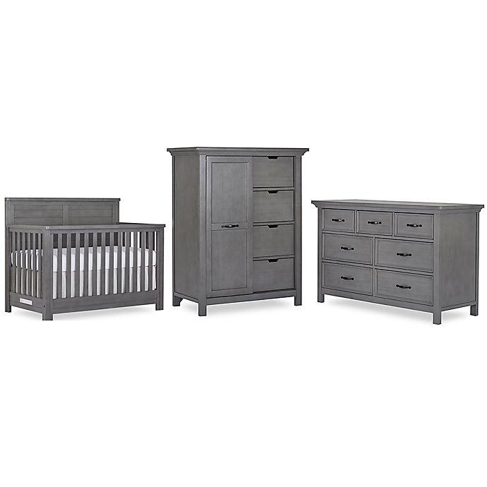 Alternate image 1 for evolur™ Belmar Flat Top Nursery Furniture Collection in Rustic Grey