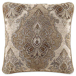 J. Queen New York™ Bradshaw Piped Square Throw Pillow in Natural