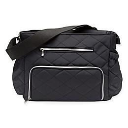 RYCO™ Syki Collection Motto Diaper Bag in Black