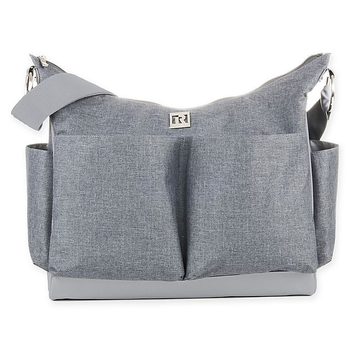 Alternate image 1 for RYCO™ Syki Collection Autumn Diaper Bag in Grey