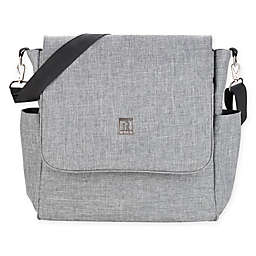 RYCO 2-in-1 Backpack/Messenger Diaper Bag in Grey