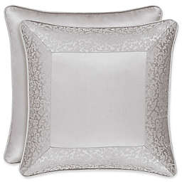 J. Queen New York™ La Scala 18-Inch Square Throw Pillow in Silver