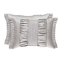J. Queen New York™ La Scala Boudoir Throw Pillow in Silver