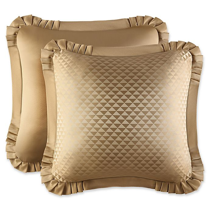 Alternate image 1 for J. Queen New York™ Concord European Pillow Sham in Gold