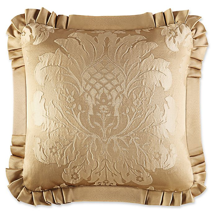 Alternate image 1 for J. Queen New York™ Concord Square Throw Pillow in Gold