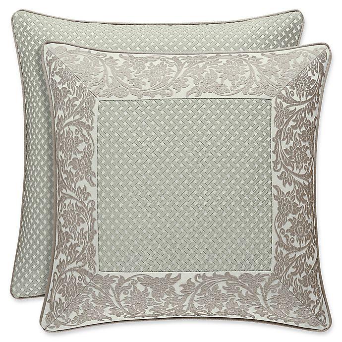 Alternate image 1 for J. Queen New York™ Monticello European Pillow Sham in Sage