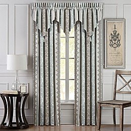 J. Queen New York™ Monticello 84-Inch Rod Pocket Window Curtain Panel Pair in Sage