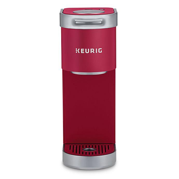 Alternate image 1 for Keurig® K-Mini Plus™ Single Serve K-Cup® Pod Coffee Maker in Cardinal Red