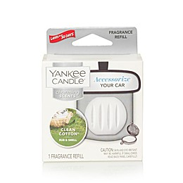 Yankee Candle® Charming Scents Clean Cotton® Car Air Freshener Refill