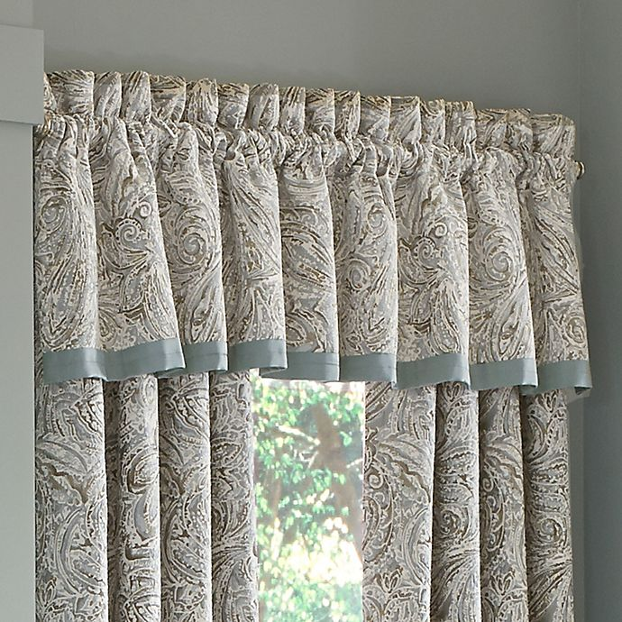 Alternate image 1 for J. Queen New York™ Giovani Window Valance in Spa