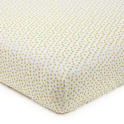 Levtex Baby® Charlotte Fitted Crib Sheet in Gold
