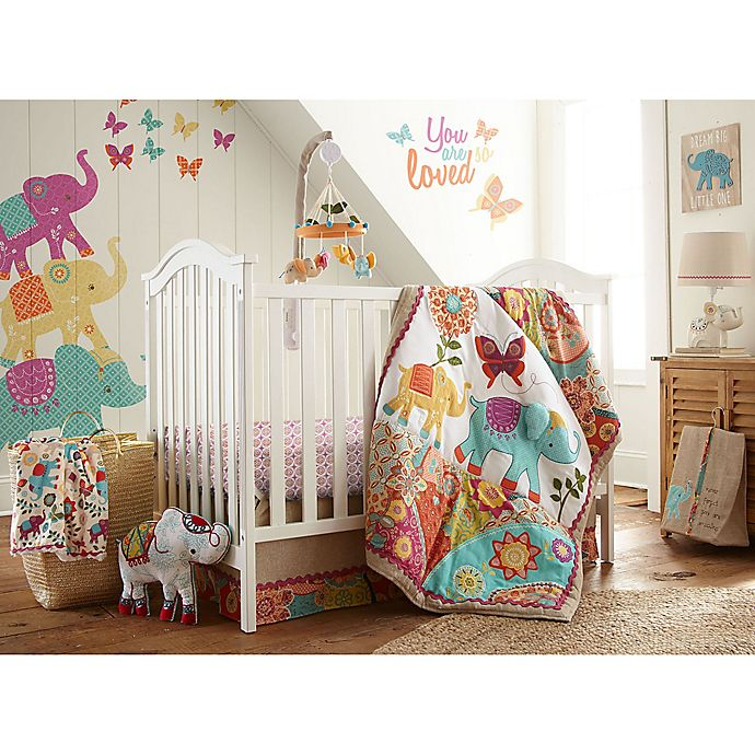 Alternate image 1 for Levtex Baby® Zahara 5-Piece Crib Bedding Set