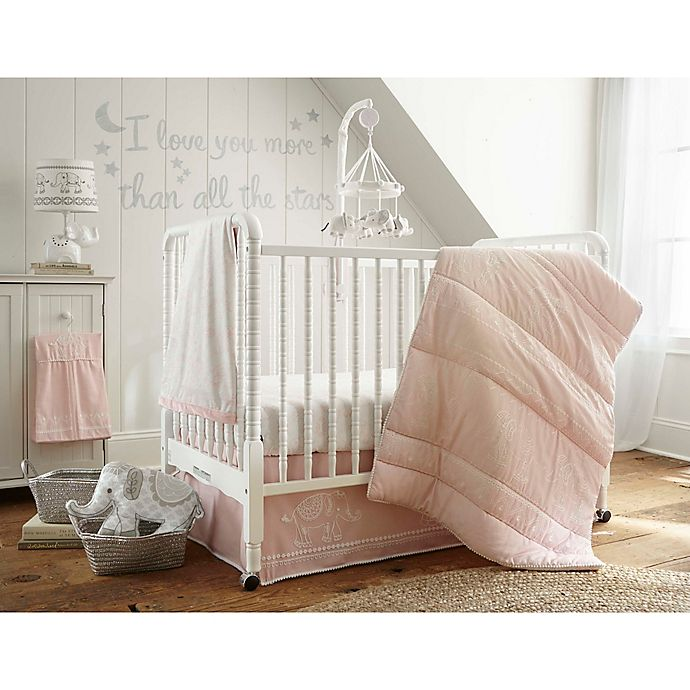 Alternate image 1 for Levtex Baby Baby Ely Crib Bedding Collection in Pink