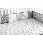Levtex Baby Everett 4-Piece Crib Bumper Set in Grey