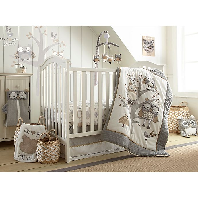 Levtex Baby Night Owl 5 Piece Crib