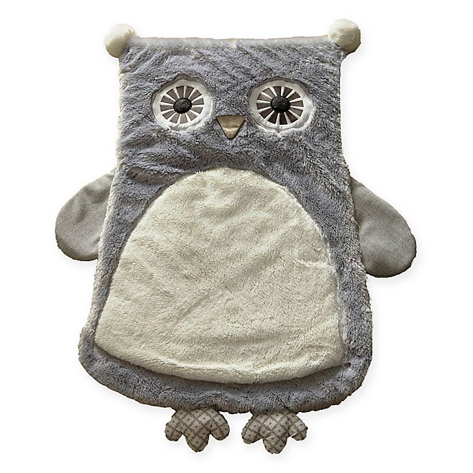Alternate image 1 for Levtex Baby® Night Owl Play Mat in Grey