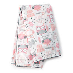 Levtex Baby® Night Owl Plush Blanket in Pink