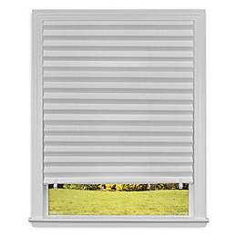 RediShade® Light Filtering 36-Inch x 72-Inch Cordless Pleated Shade in White (Set of 3)