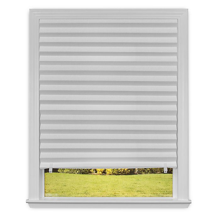 Alternate image 1 for RediShade® Light Filtering 36-Inch x 72-Inch Cordless Pleated Shade in White (Set of 6)