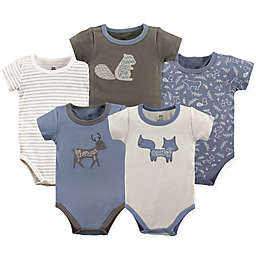 Yoga Sprout Forest 5-Pack Bodysuit Set