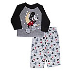 Disney® Size 3T 2-Piece Mickey Mouse Pajama Set in Black