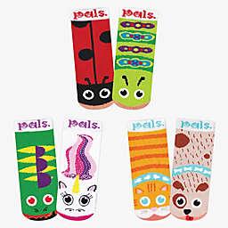 Pals Socks™ Lil Besties Size 6-12M 3-Pack Socks Box