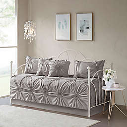 Madison Park Leila Daybed Set in Dark Grey