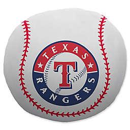 MLB Texas Rangers Baseball Cloud Pillow