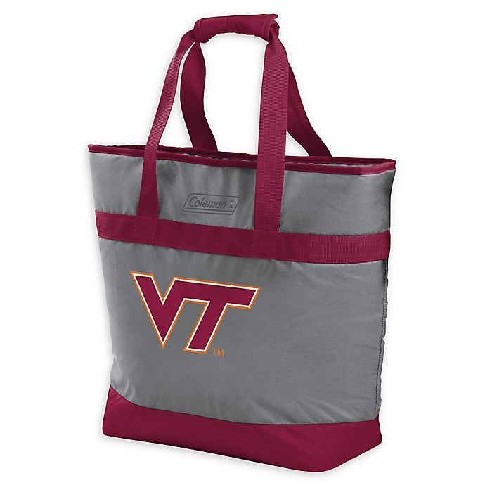 Alternate image 1 for NCAA Virginia Tech Hokies 30-Can Cooler Tote