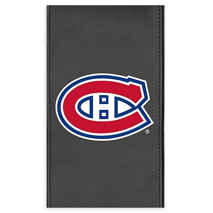 Alternate image 1 for NHL Montreal Canadians Faux Leather Logo Panel