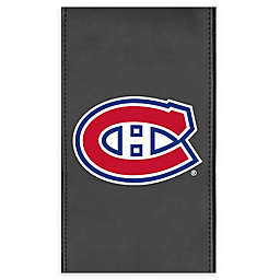 NHL Montreal Canadians Faux Leather Logo Panel